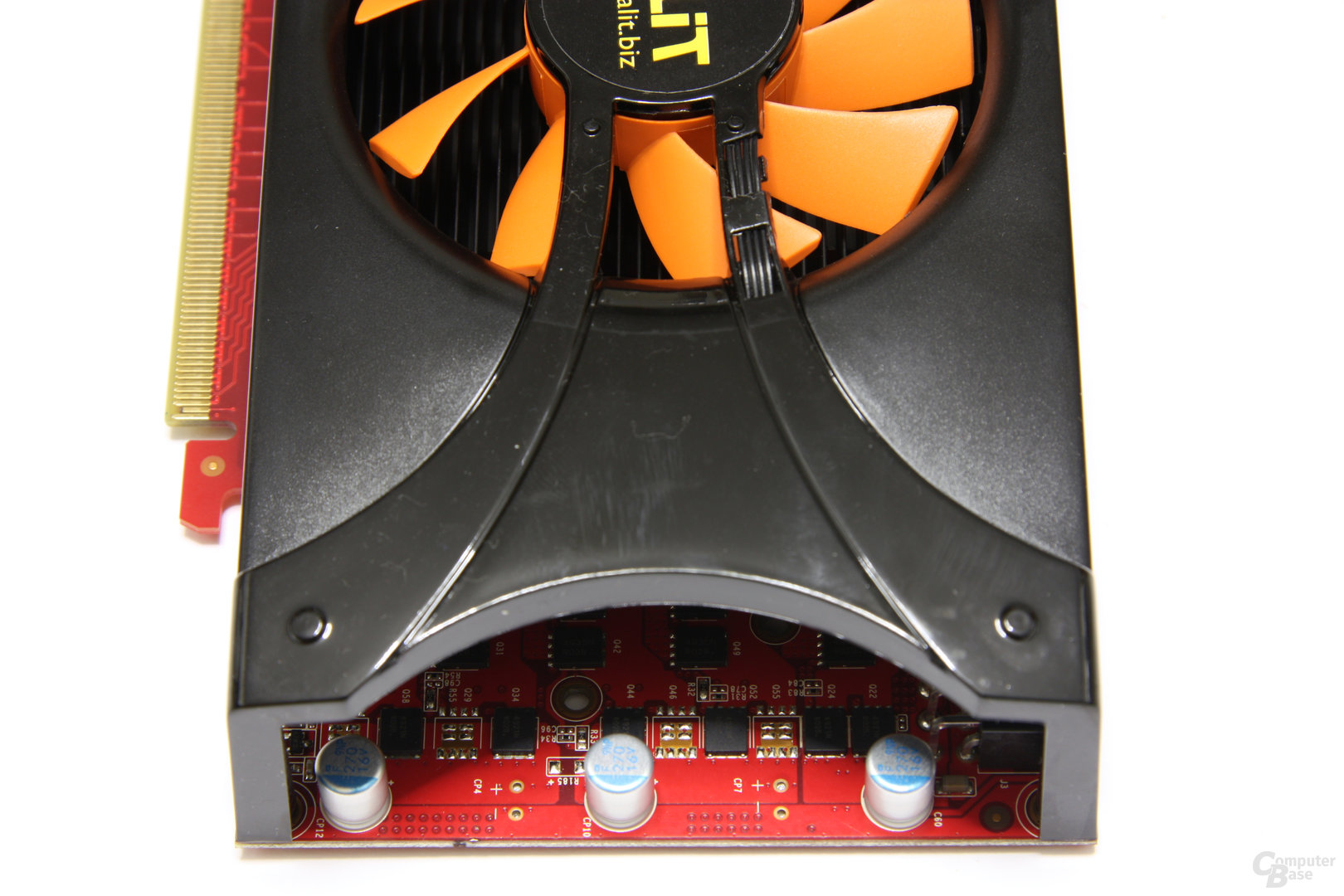 GeForce GTX 460 Sonic 2GB von oben