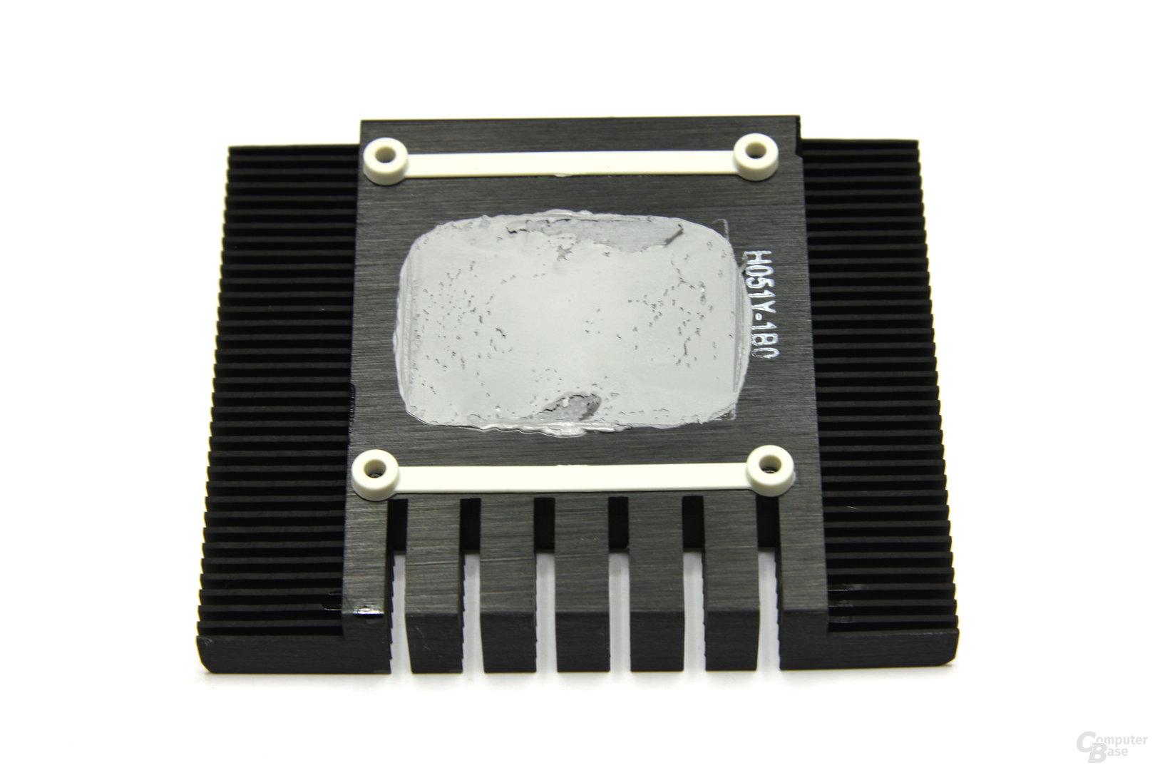 GeForce GTX 460 Sonic 2GB Kühlerrückseite