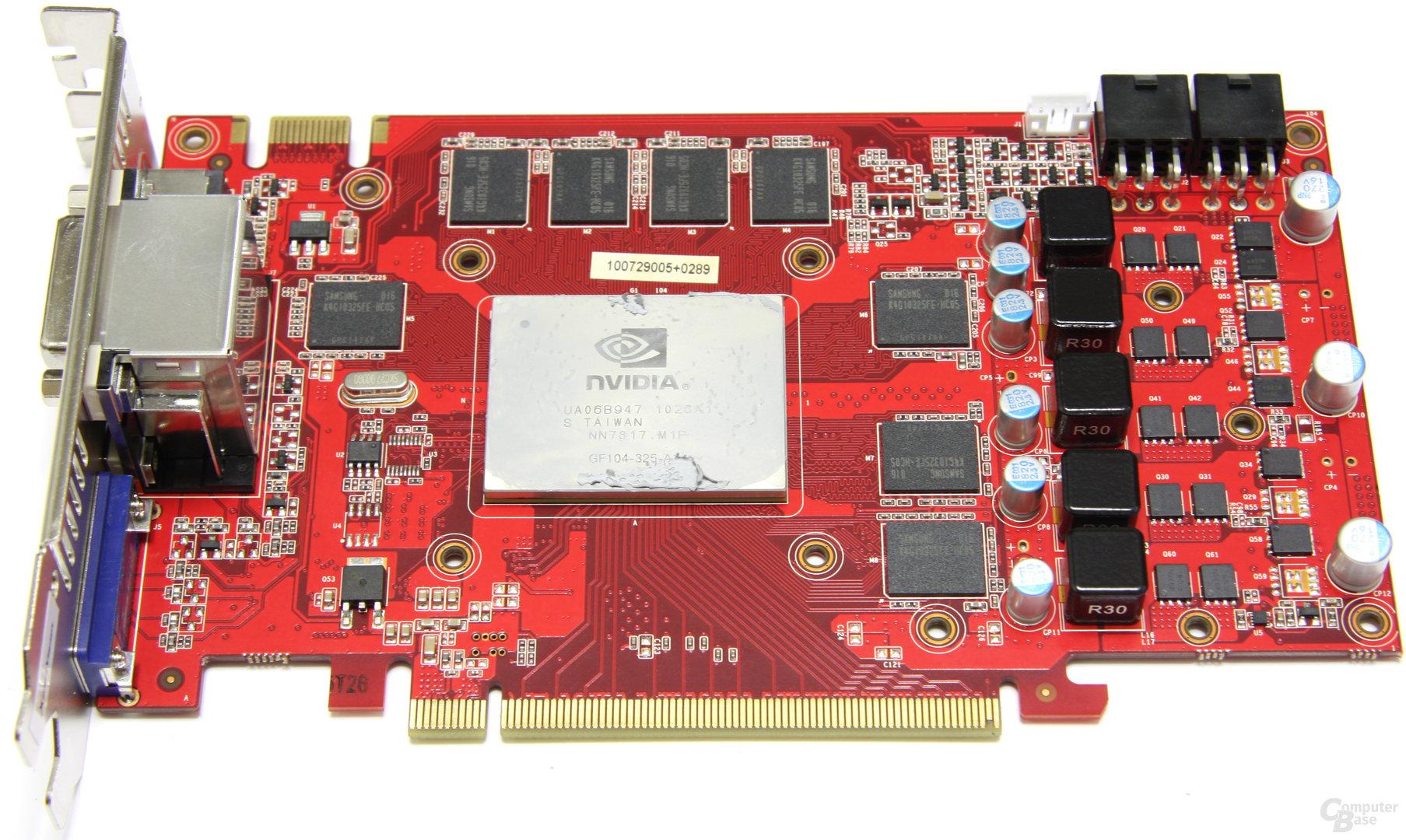 GeForce GTX 460 Sonic 2GB ohne Kühler