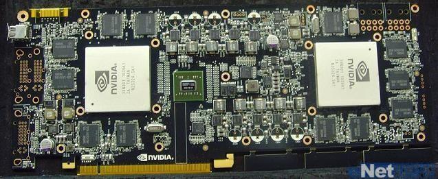 PCB einer Nvidia GeForce GTX 595?
