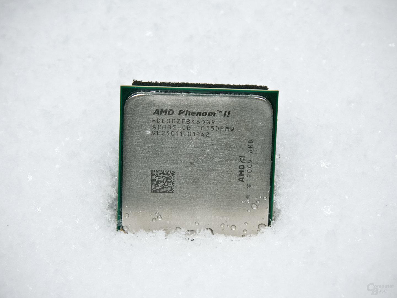 AMD Phenom II X6 1100T Black Edition im Schnee