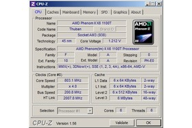 AMD Phenom II X6 1100T Black Edition im Idle