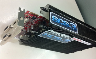 Passiv gekühlte Radeon HD 6850 von PowerColor