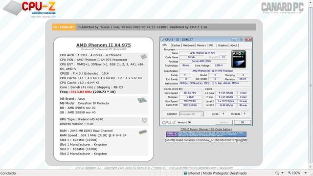 """AMD Phenom II X4 975 im """"Normalzustand"""""""