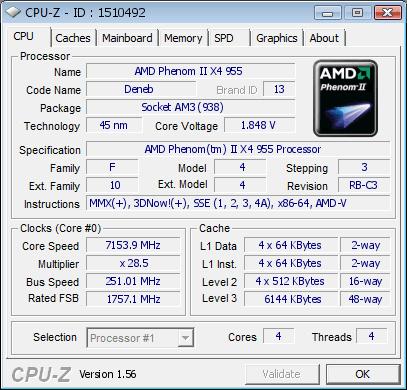 Neuer AMD-Rekord: 7.153,9 MHz