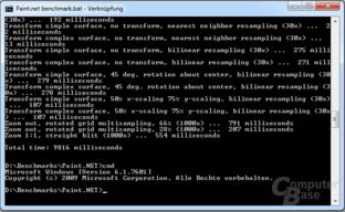 Paint.NET – Benchmark