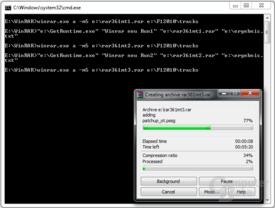 WinRAR 4.0 (reales Packen)