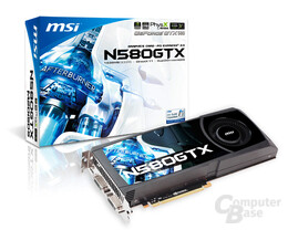MSI Nvidia GeForce GTX 580