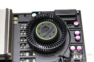 GeForce GTX 570 Lüfter ohne Kühlplatte