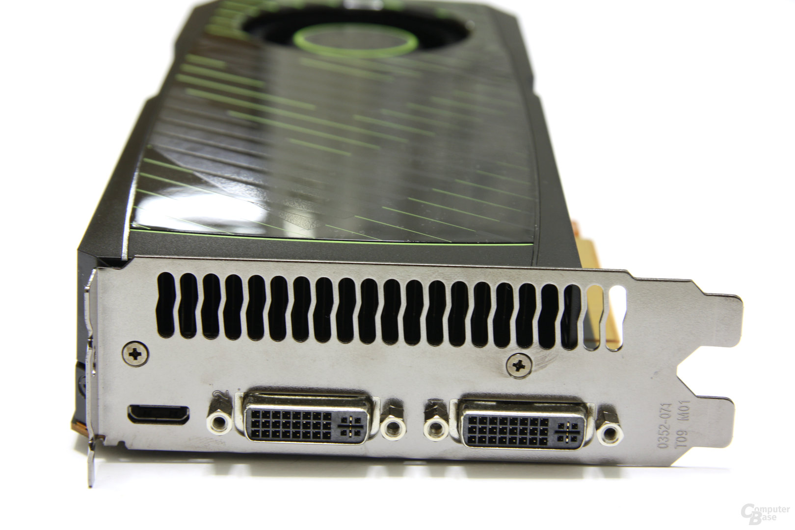 GeForce GTX 570 Slotblech