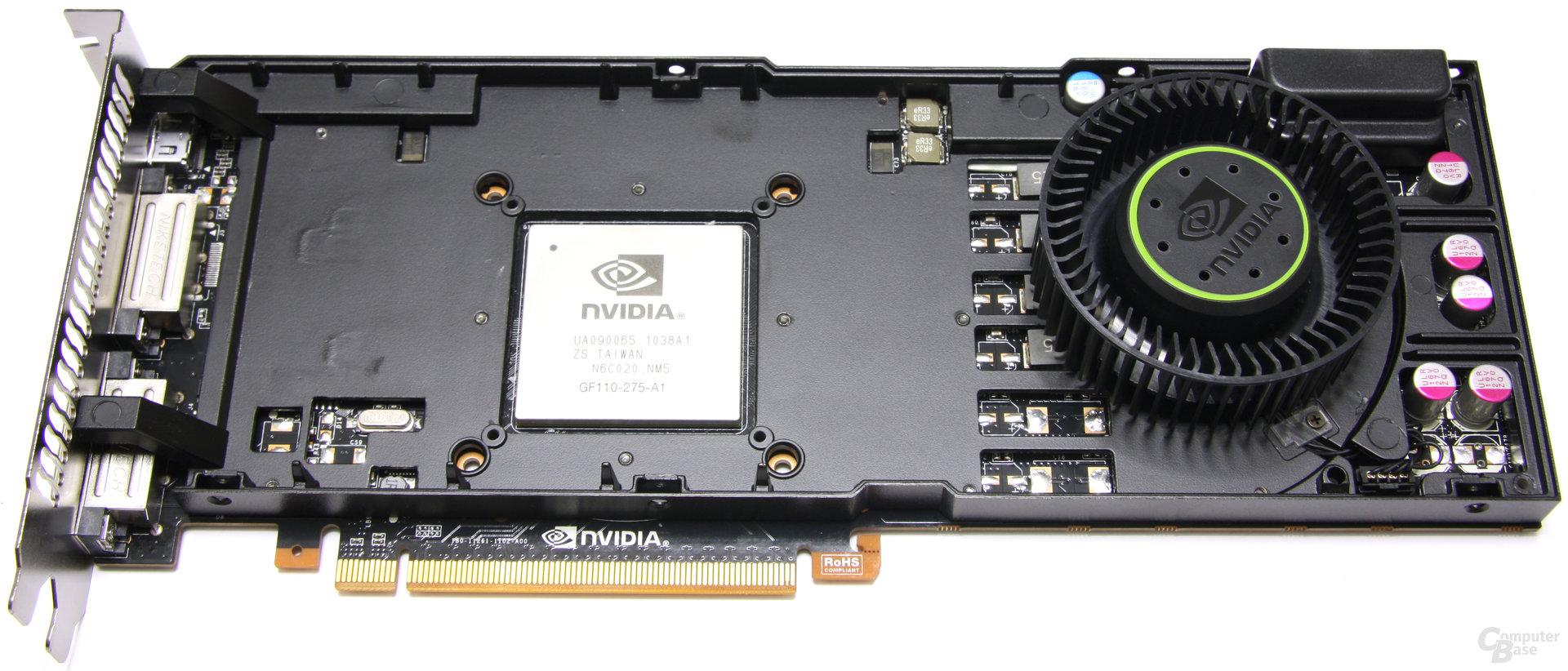 GeForce GTX 570 ohne Kühlkörper