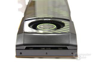 GeForce GTX 570 von hinten