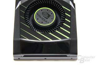 GeForce GTX 570 von oben