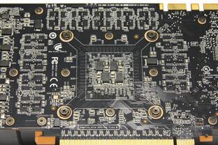 GeForce GTX 570 Chiprückseite