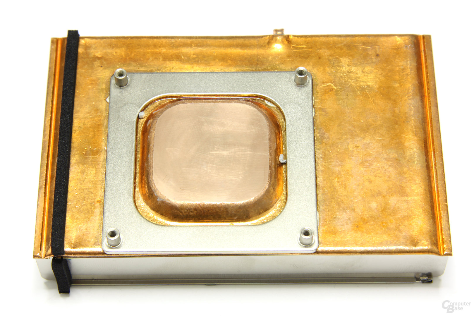 GeForce GTX 570 Kühlerrückseite