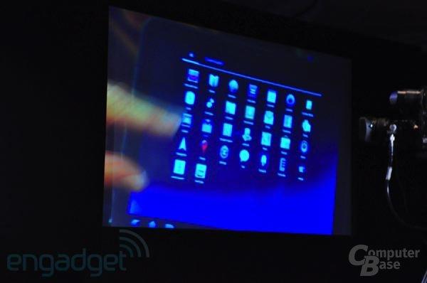 Motorola-Tablet mit Android 3.0