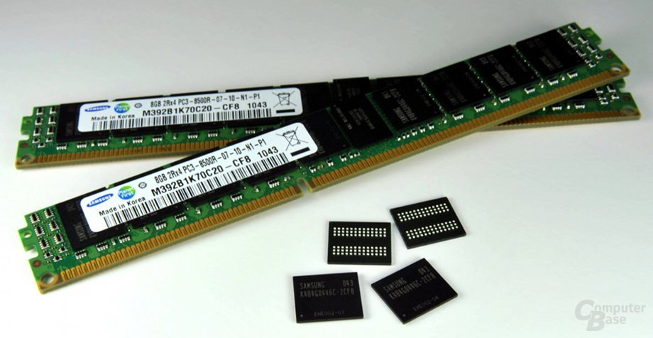 Samsung Green Memory mit 3D-TSV-Speicherchips