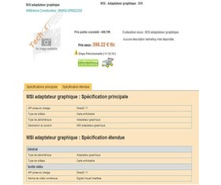 Radeon HD 6950 in franz. Online-Shop | Quelle: tcmagazine.com