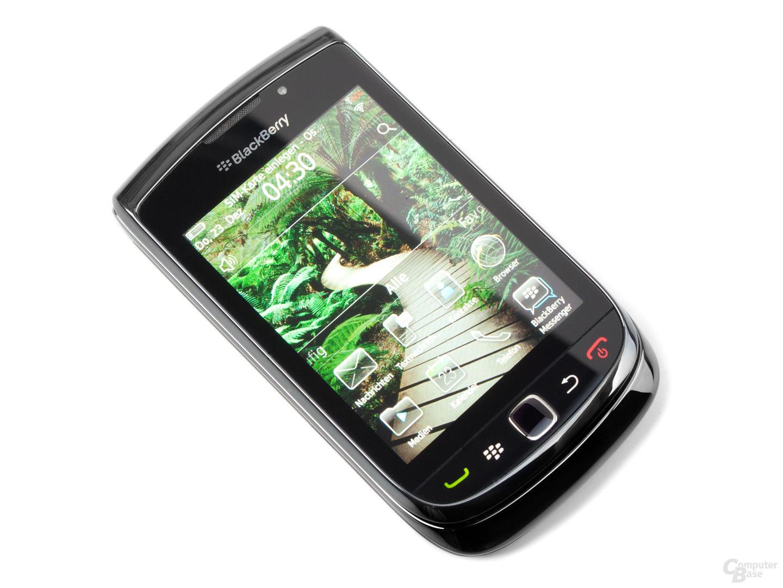 BlackBerry OS 6 Homescreen