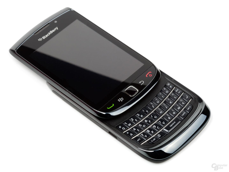 BlackBerry Torch 9800: Dem Palm Pre (Plus) optisch nicht unähnlich