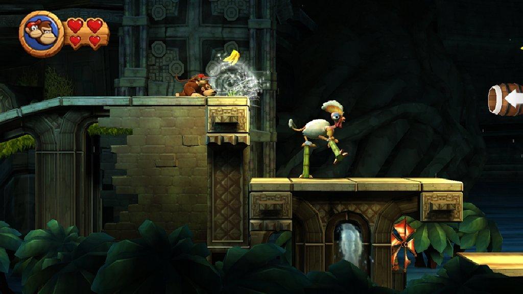 Wii-Steuerung: Pustender Donkey Kong