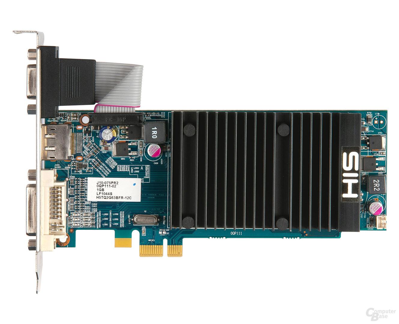 HIS Radeon HD 5450 Silence PCIe 1x