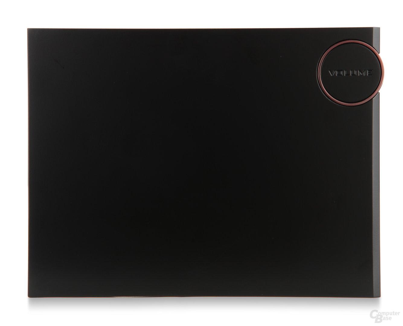 """Touch-Fernbedienung """"REVOPad"""" (Rückseite)"""
