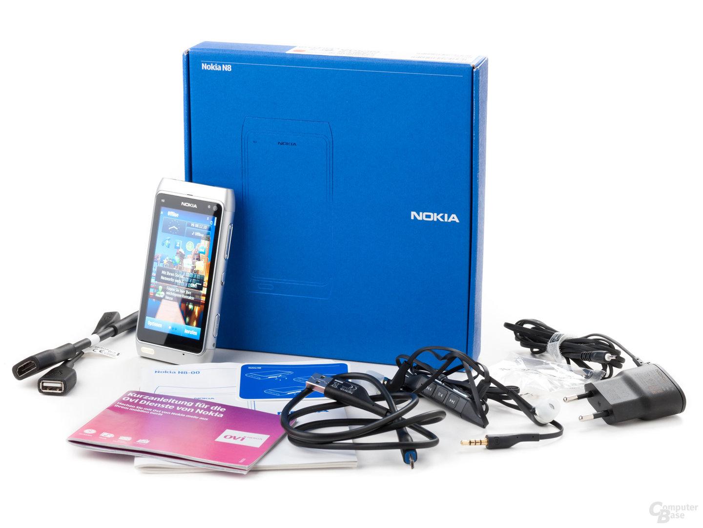 Nokia N8-00: Lieferumfang