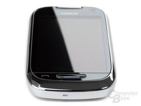 Nokia C7-00: Unterseite