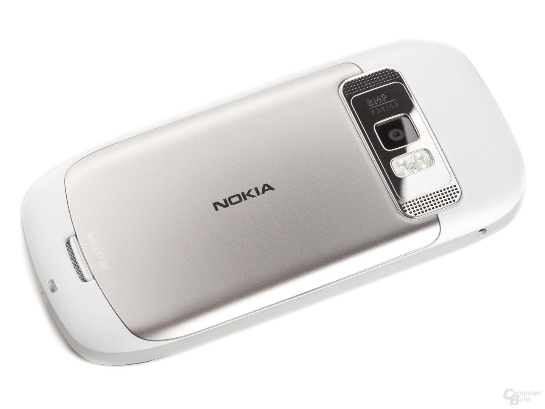 Nokia C7-00: Rückseite