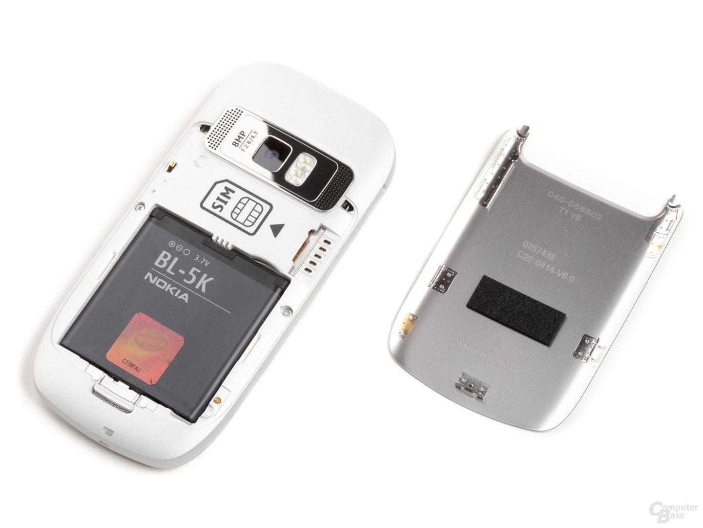 Nokia C7-00: Akku