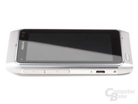 Nokia N8-00: Seitenansicht