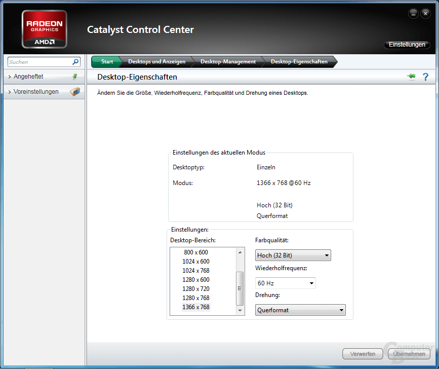 AMD Catalyst Control Center 2