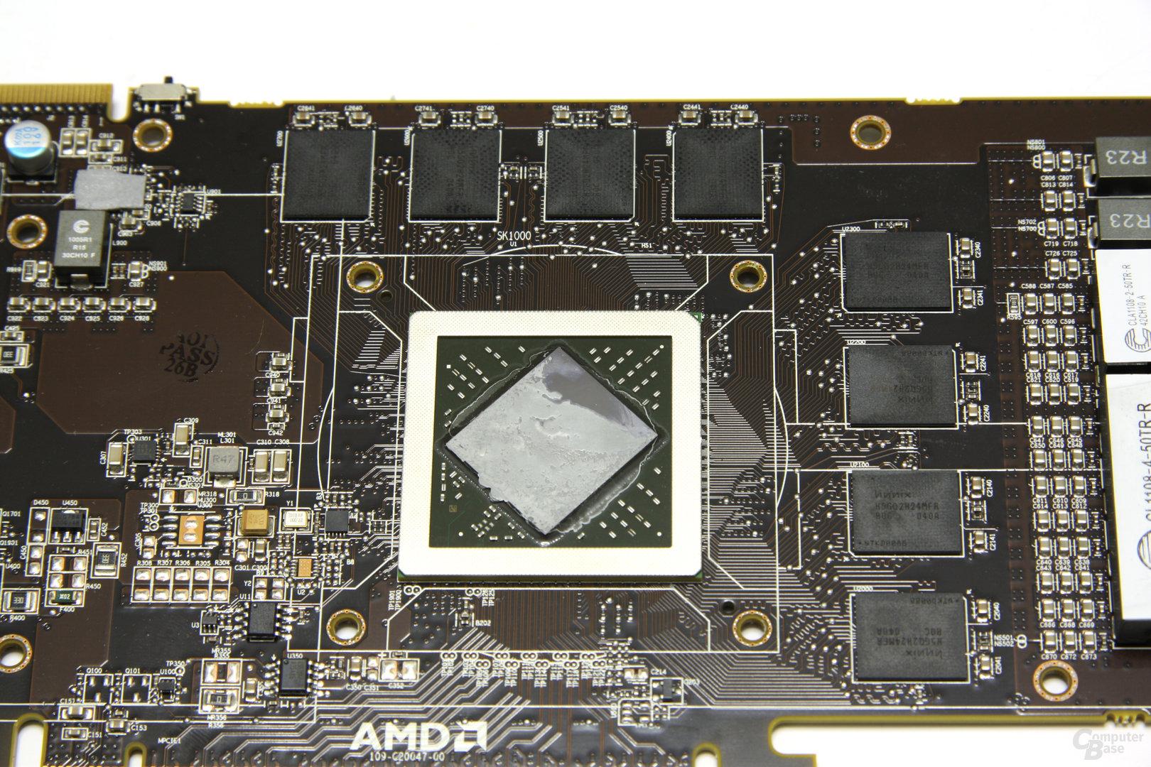 Radeon HD 6970 GPU und Speicher