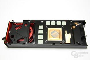 Radeon HD 6970 Kühlerrückseite