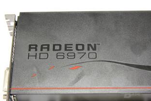 Radeon HD 6970 Schriftzug