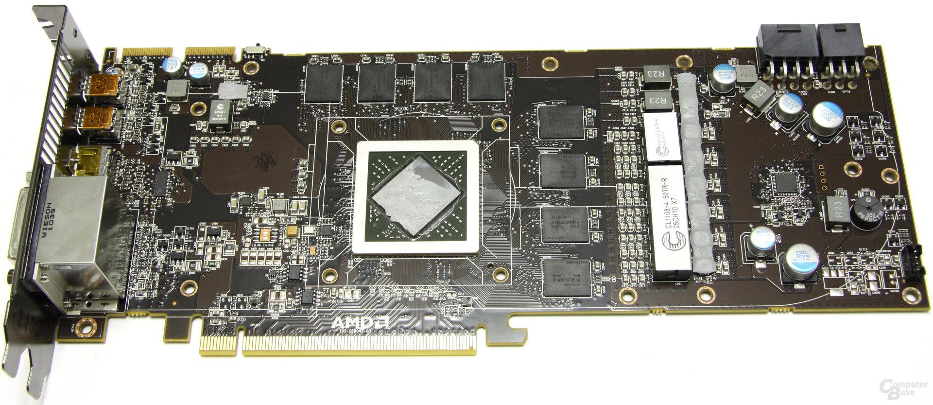 Radeon HD 6970 ohne Kühler