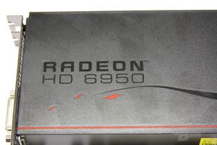 Radeon HD 6950 Schriftzug