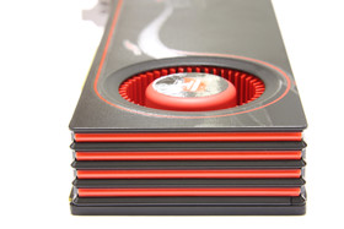 Radeon HD 6950 von hinten
