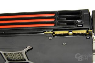 Radeon HD 6970 BIOS-Schalter