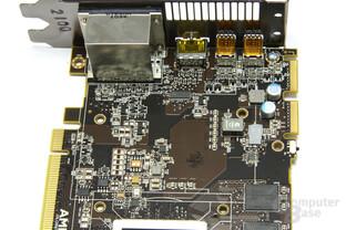 Radeon HD 6970 Bauteile