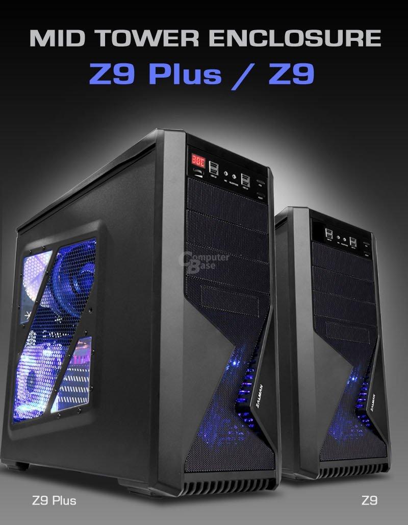 Zalman Z9 und Z9 Plus