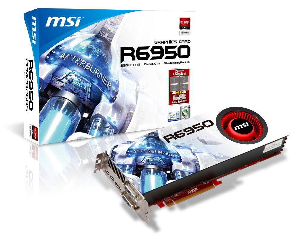 MSI Radeon HD 6950