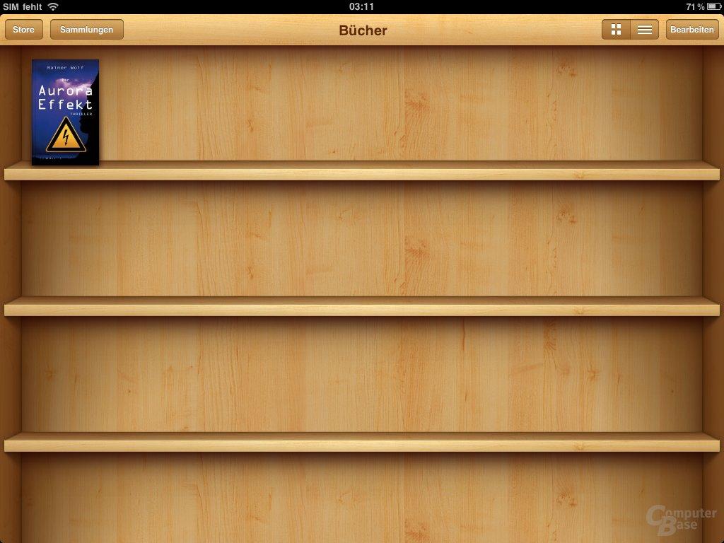 iPad: Bücher lesen