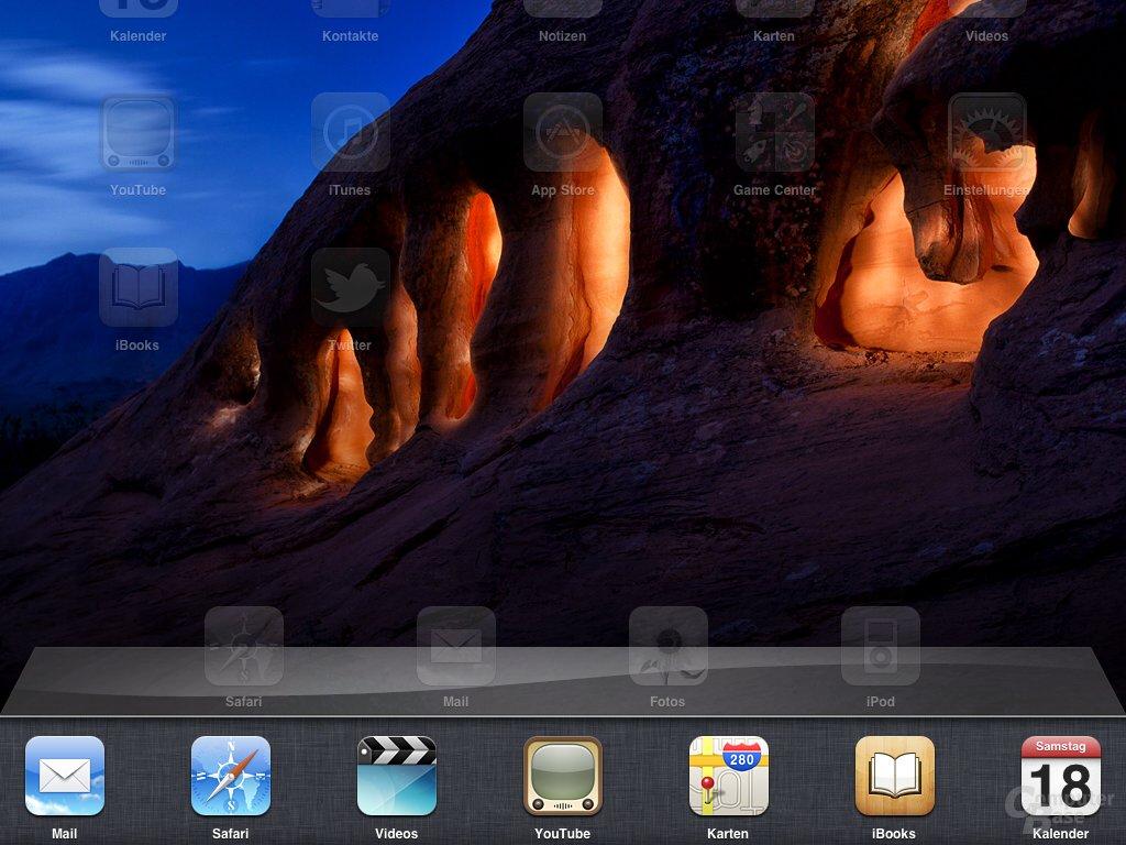 iPad: (Eingeschränktes) Multi-Tasking
