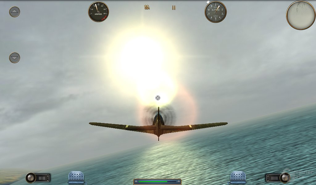 Galaxy Tab: Spiel (Skies of Glory)