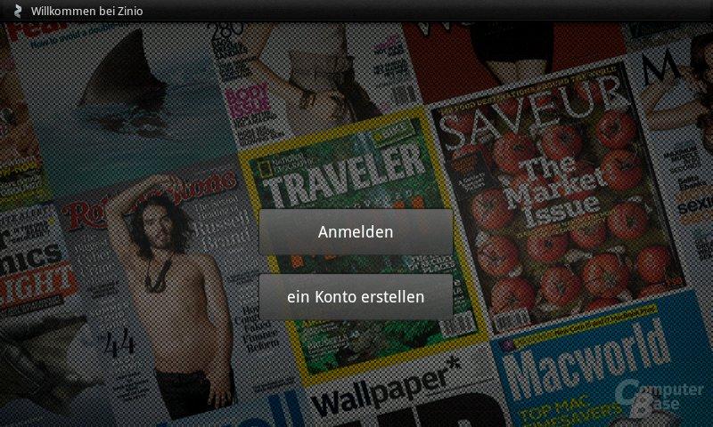 Streak: Magazine lesen (ZinioReader)