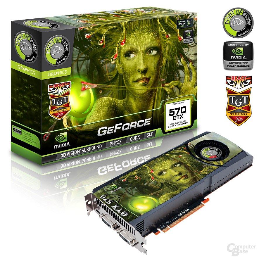 """POV/TGT GeForce GTX 570 """"Beast"""""""