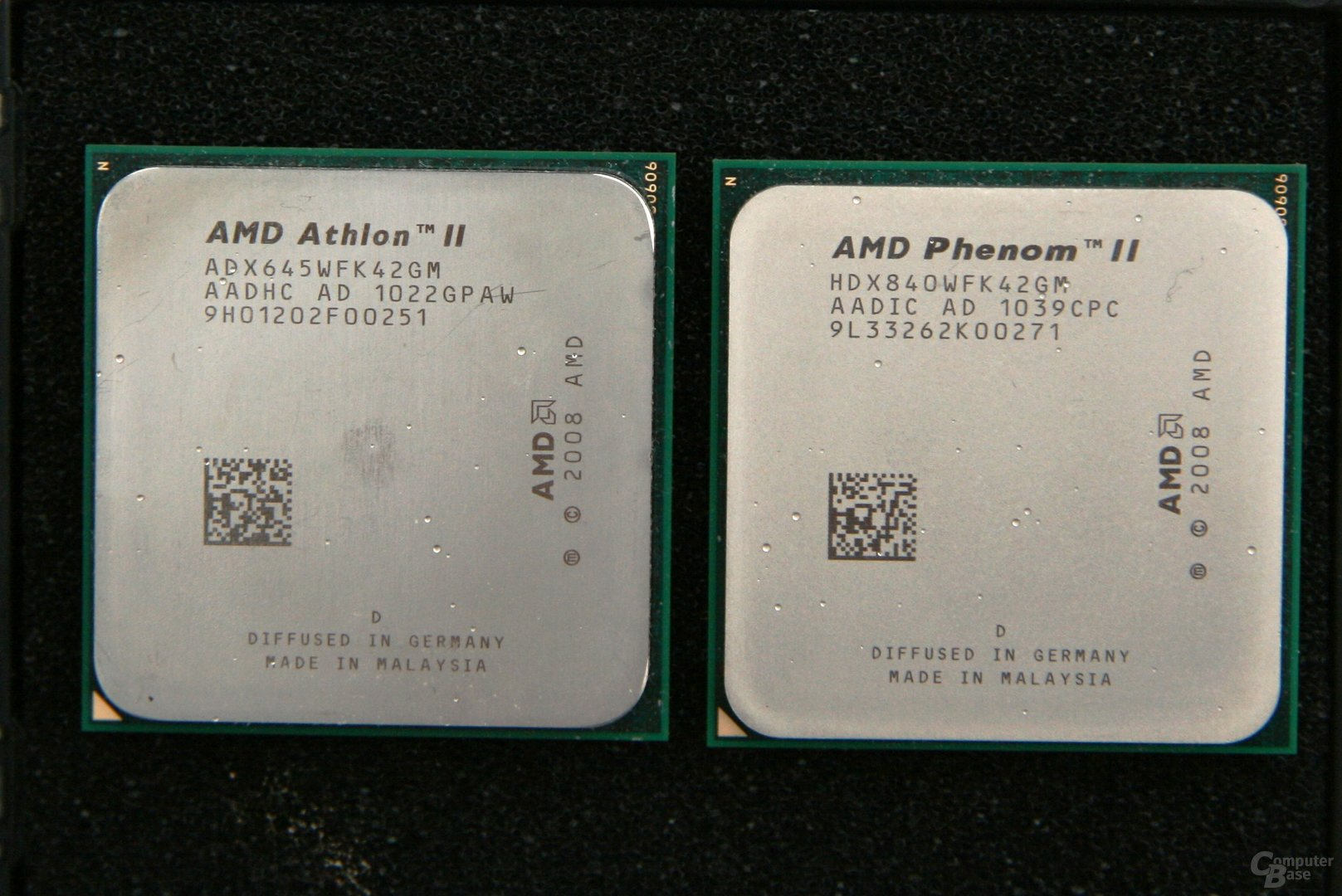 Athlon II X4 645 und Phenom II X4 840
