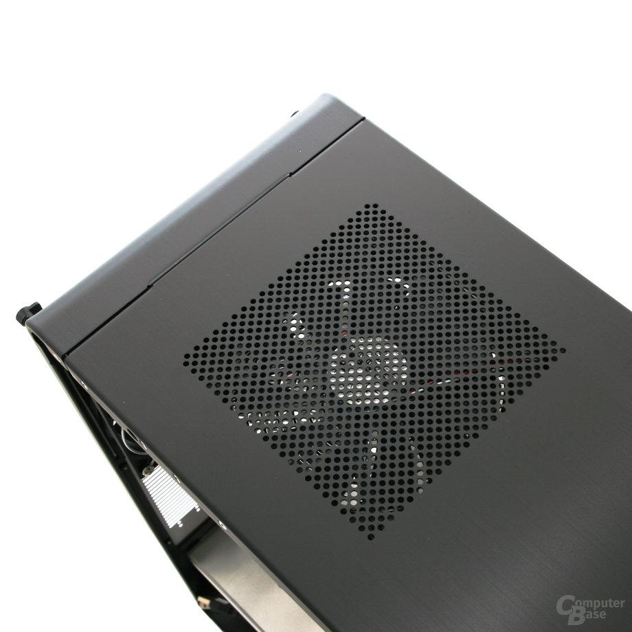 Lian Li PC-V1020B – Lüfter im Deckel